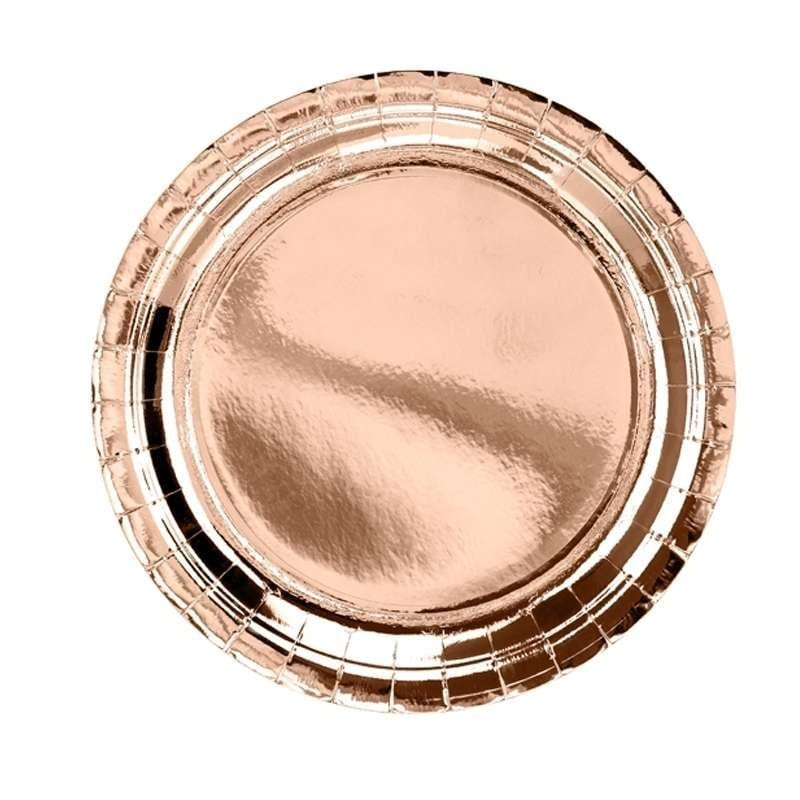 Piatti Rose Gold – 6pz