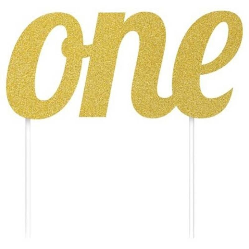 Decorazione Scritta – One Glitterata Oro -8c324533-