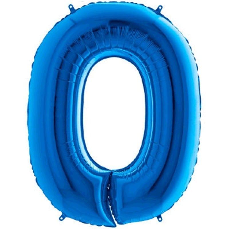Numeri Foil 1 Metro Blu Da 0-9