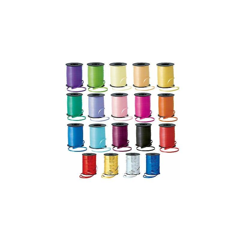 Nastrino Per Palloncini 5 Mm X 10 Mt Colori Assortiti 1 Rotolo