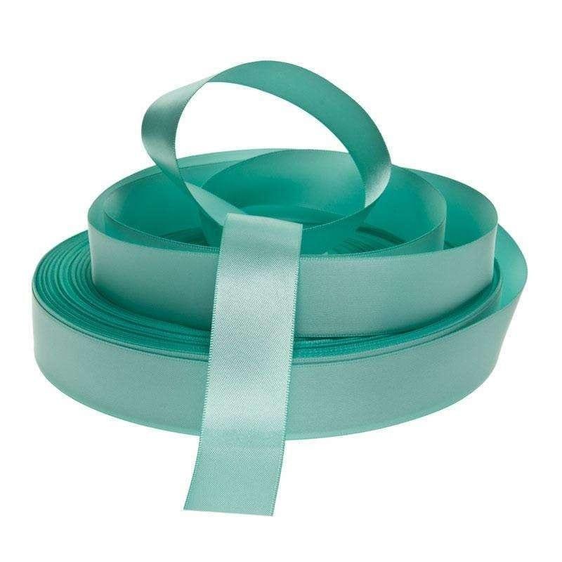 Nastrino Verde Tiffany Raso 2,5 Cm