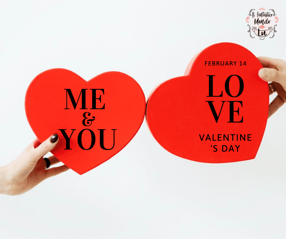 frasi d'amore per San Valentino, love is me and you.